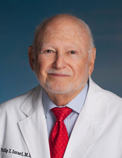 Philip Z. Israel, MD, FACS, of The Philip Israel Breast Center