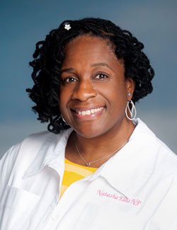 Natasha Ellis, NP-C, of The Philip Israel Breast Center